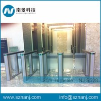 RFID Fast Speed Turnstile Automatic Security Swing Barrier Gate for Gym