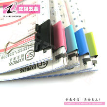 Silver binder clips Office and stationery supplies manufacturer
