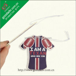 Kids 2014 new design making logos printed air freshener for home