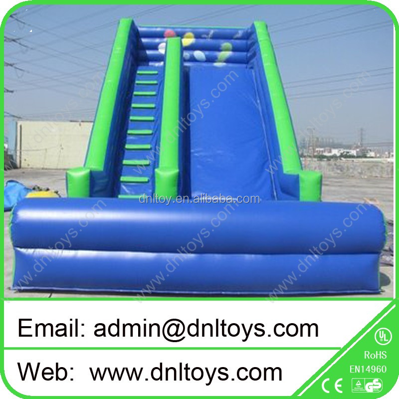 Top sales Climb and slip Inflatable Toboggan Slide