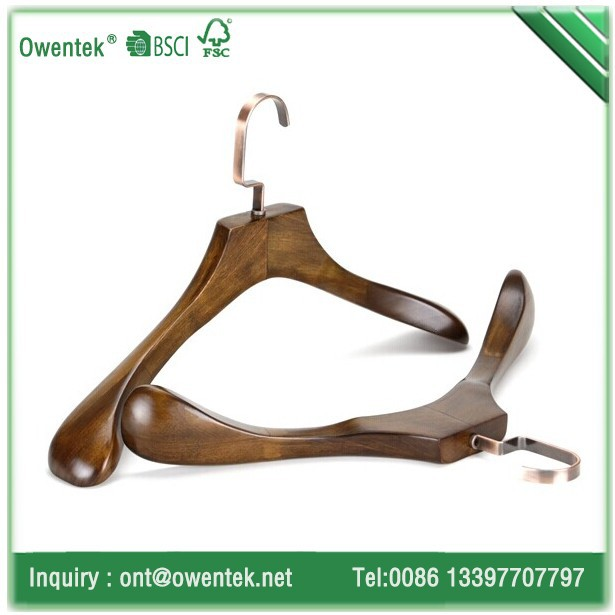 Deluxe customize heavy coat hanger wood for displaying, living room furniture wholesale