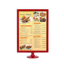 A4 Size Plastic Menu Holder For Hotel