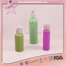 aluminum soap foaming pump bottles 100ml 150ml 200ml
