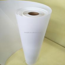 125um Eco solvent reverse/front printing backlit PET film for digital printing