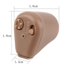 Portable Battery Powered Micro Ear Sound Amplifier Rechargeable Digital Mini Pocket Hearing Aid