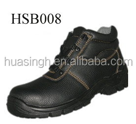 slip resistant PU sole hot sale cheap price steel toe liberty safety shoes for Dubai