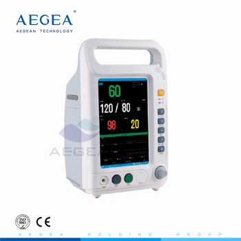 Easy carrying AG-BZ007 electric patient portable multi-parameters patient monitor