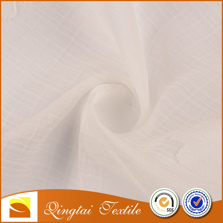 Soft hand feel 75D solid polyester printed chiffon fabric