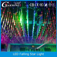 led wireless falling star led night club lights /party/wedding/fashion show