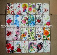 TPU silicone rubber case skin back cover for Blackberry curve 8520
