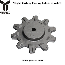 self produced investment casting parts steel pintle chain and sprocket for sale