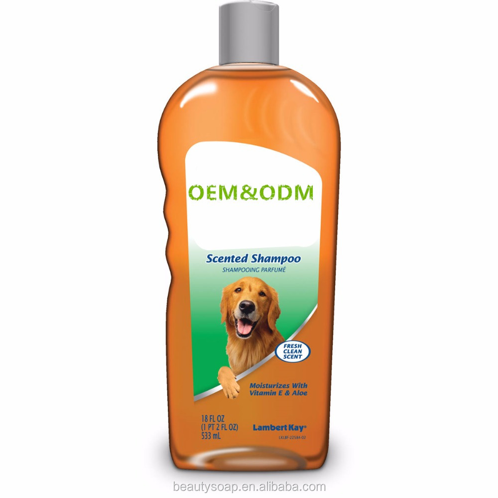 2017 Hot sell! Pet shampoo Welcome to OEM