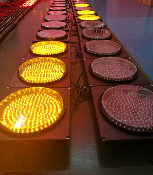 220vac amber flashing led traffic signal