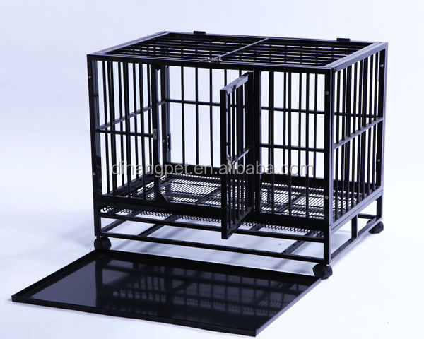 High Quality Low Price Heavy Duty Dog Cage For Sale Direct Factory Fast Delivery)