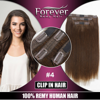 Forever unprocessed 100% indian virgin human hair 20