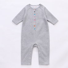 2017 newborn baby clothes Fall soft Cotton long sleeve long leg baby romper