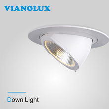Superior Quality Showroo Shop Gallery Recessed COB 20w 28w 32w super brightness anti-glare led downlight
