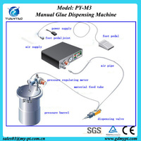 PY-M3 foot switch control 502 instant glue dispensing machine/Low viscosity ink filling machine