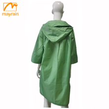 heavy rain impermeable polyester pvc Bicycle Rain coat for cycling