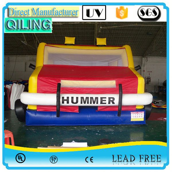 2017qiling excellent quality 0.55 TPU/PVC fashionable inflatable bouncers games in stock
