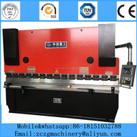 Factory price hydraulic manual hand press brake