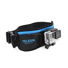 TELESIN GoPros Waist Strap Band Mount With J-hook Mount Vertical Buckle for Go Pro Hero6/5/4 Xiaomi YI 4K, Mijia 4K Accessories