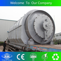 China factory export waste tyre pyrolysis oil