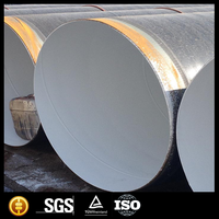 Large Diameter 3PE Coated SSAW Steel Pipe/SSAW Spiral steel pipe polyethylene/polyethylene pipe