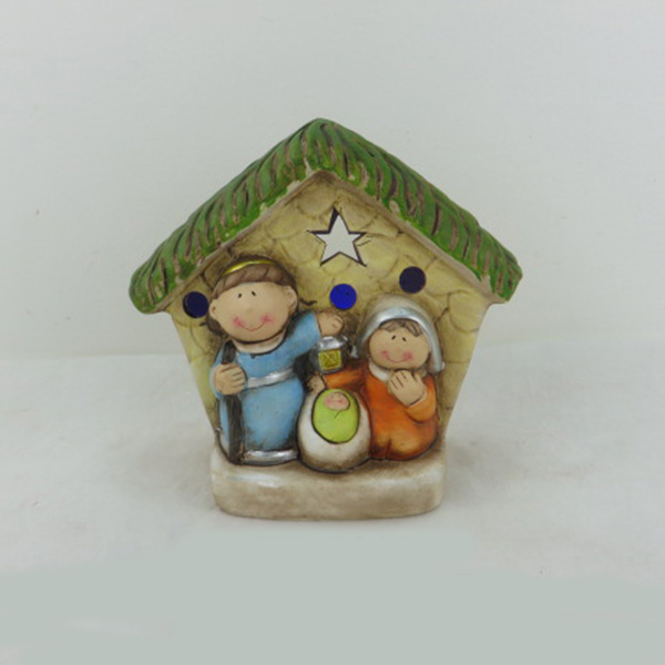 high quality ceramic holy family statues decoration craft