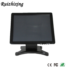 Christmas Promotional 5% off Customized high brightness 1280x1024 vga dc 12v lcd 17 inch used touch screen pos monitor