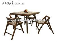 Lumbar Set Indoor Rattan Furniture
