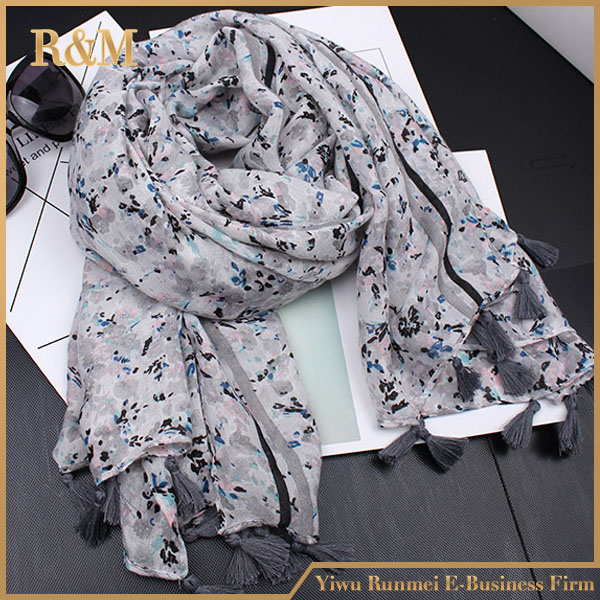 2017 custom design new fashion wholesale scarf hijab dubai scarf