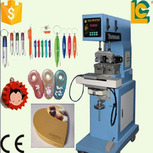simple operation two color Shutter sealed cup metal pad printing machine for chocolate candy box
