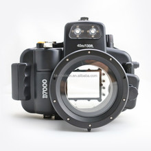 Newest underwater diving case waterproof camera housing for DSLR camera Nikon D7000