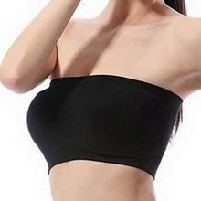 OEM services Seamless sexy tube bandeau bra top sexy bra tube in China