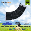 12V 50W Thin Film Semi Flexible PV Solar Panel