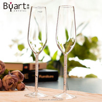 High Clear Glass Goblets