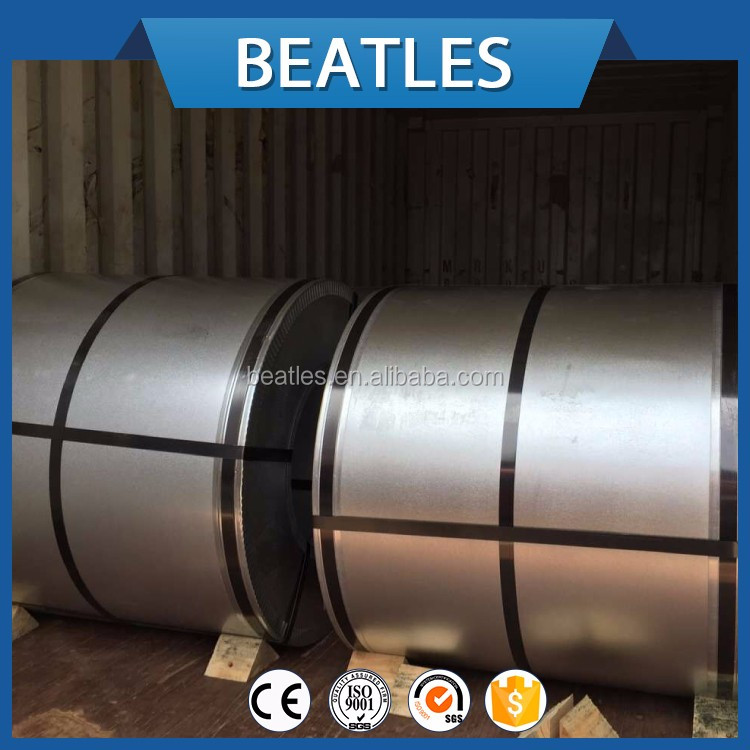 Galvanized coil of steel