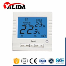 Low wind lcd screen thermostat for air conditioning