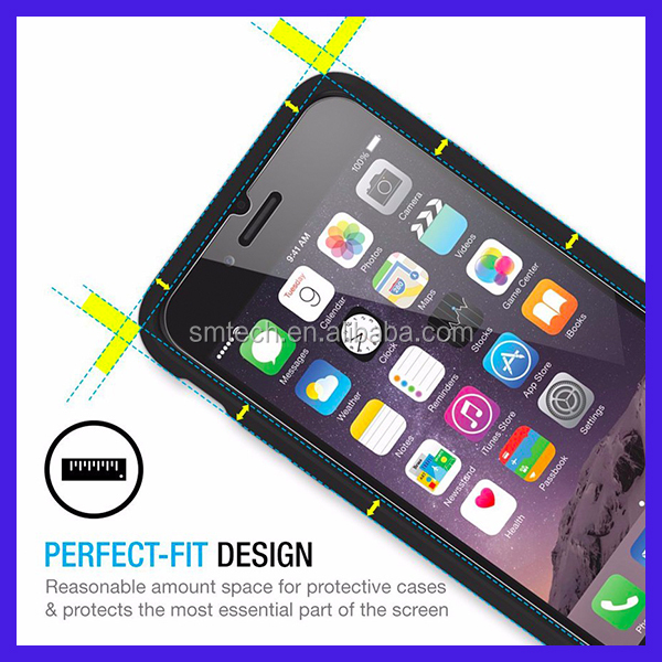 Newest tempered glass for iPhone7 Stronger 3D 9H 2.5D mobile phone Tempered Glass screen protector for iPhone7