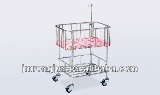 portable baby hospital bed with wheels for sale M013