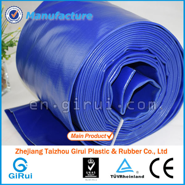 Gold supplier china plastic recycled water pvc irrigation pipe