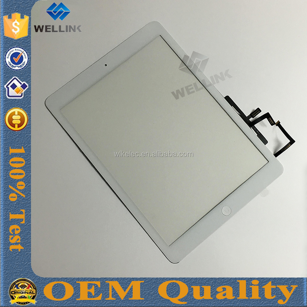 Lcd Display For Ipad5 Replacement Tested One By One for ipad air touch screen digitizer