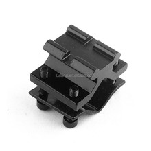 Barrel Clamp Accessories 20mm Weaver Scope Full Mount Picatinny Rail Airsoft Hunting Adapter Rifle Gun Riflescope Base