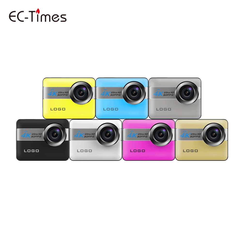 12MP Wide Angle Lens 30 Meter Waterproof Ultra HD 4K Action Camera