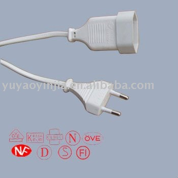 Europe VDE ac power cord