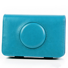 Mini Pure color pu bag protective Digital camera <strong>case</strong> for polaroid Snap Instant camera