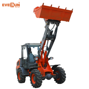 China Engineering & Construction Machinery mini garden Wheel front loader 2000KG ER20 With Standard Bucket