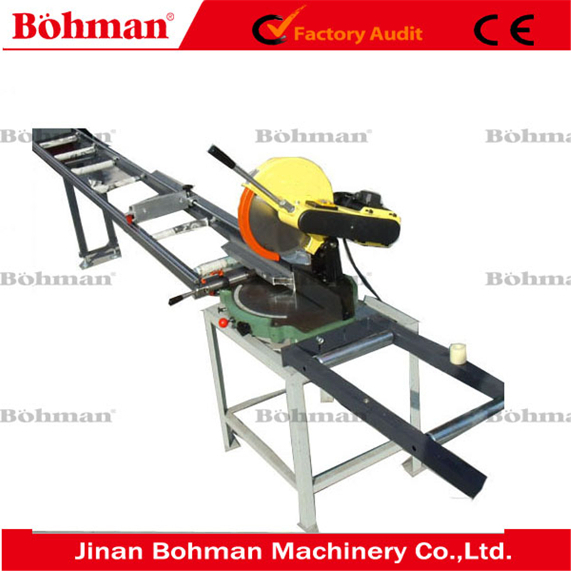 Portable aluminium <strong>cutting</strong> saw cutter machine / aluminum window and door making machine