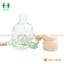 China supplier hanging wooden bottle cap for car perfume